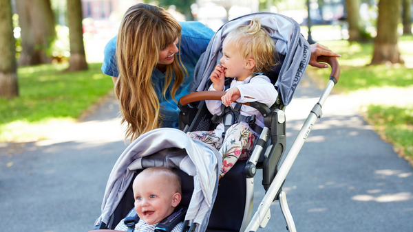 how to convert the uppababy vista to a double stroller