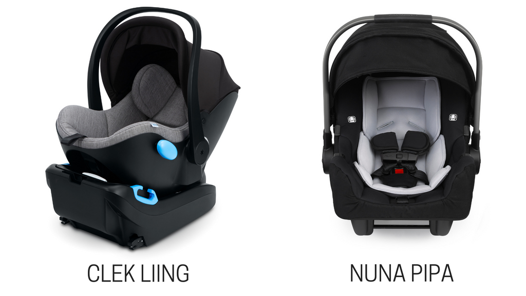 Clek Liing vs. Nuna PIPA Infant Car Seat Comparison