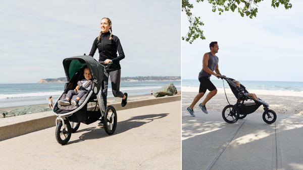 Can I jog with UPPAbaby Vista