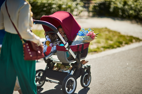 which bugaboo converts to a double stroller