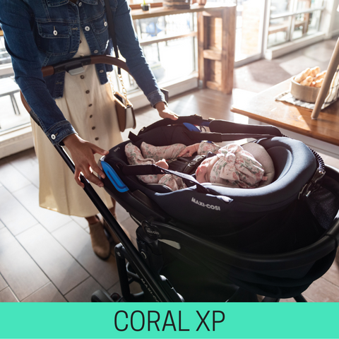 Strollers compatible with Maxi Cosi Coral XP
