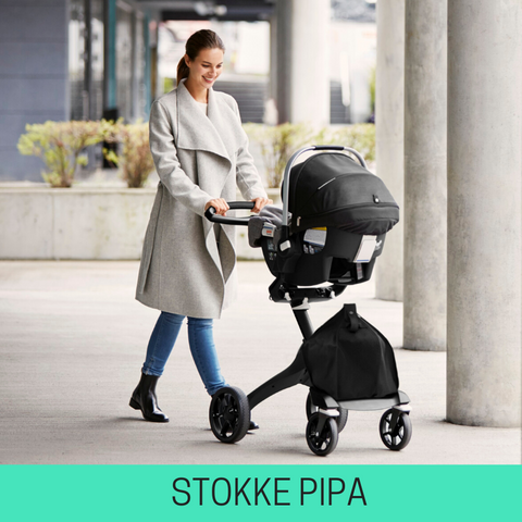 strollers compatible with stokke pipa