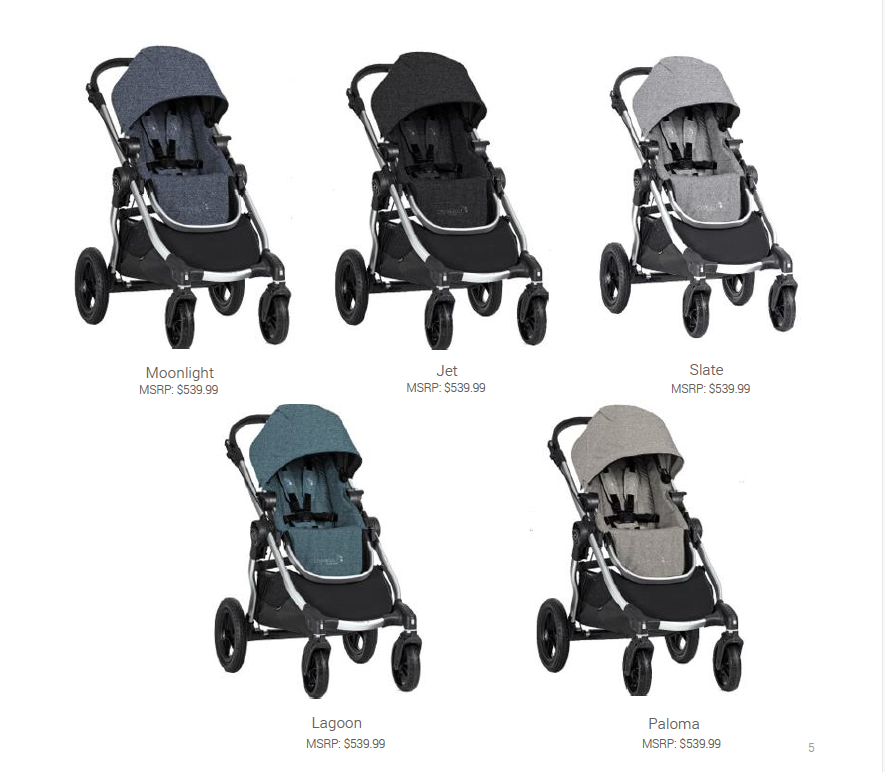2019 baby jogger city select vs 2018 baby jogger city select stroller comparison