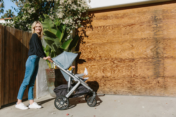 Can I jog with UPPAbaby Vista?