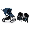 Bumbleride Indie Twin and Clek Liing Twin Travel System