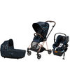 Cybex Mios2 Stroller, Carry Cot, and Cloud Q Infant Car Seat Bundle - Jewels of Nature