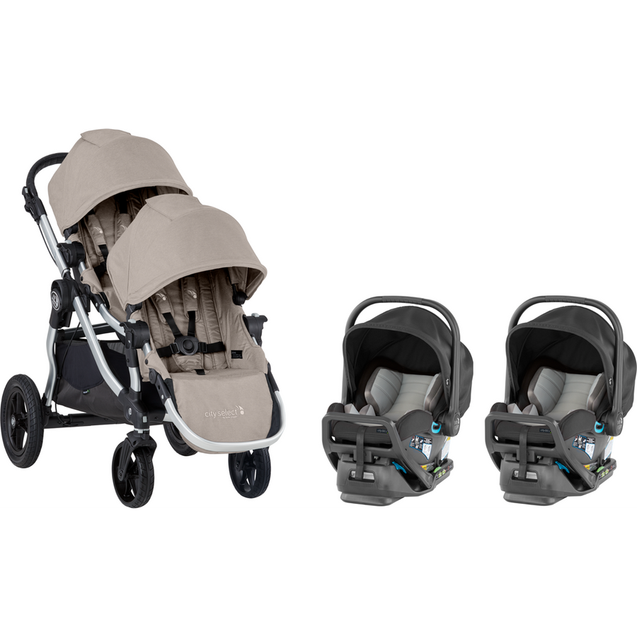 2020 Baby Jogger City Select and City GO 2 Twin Travel System