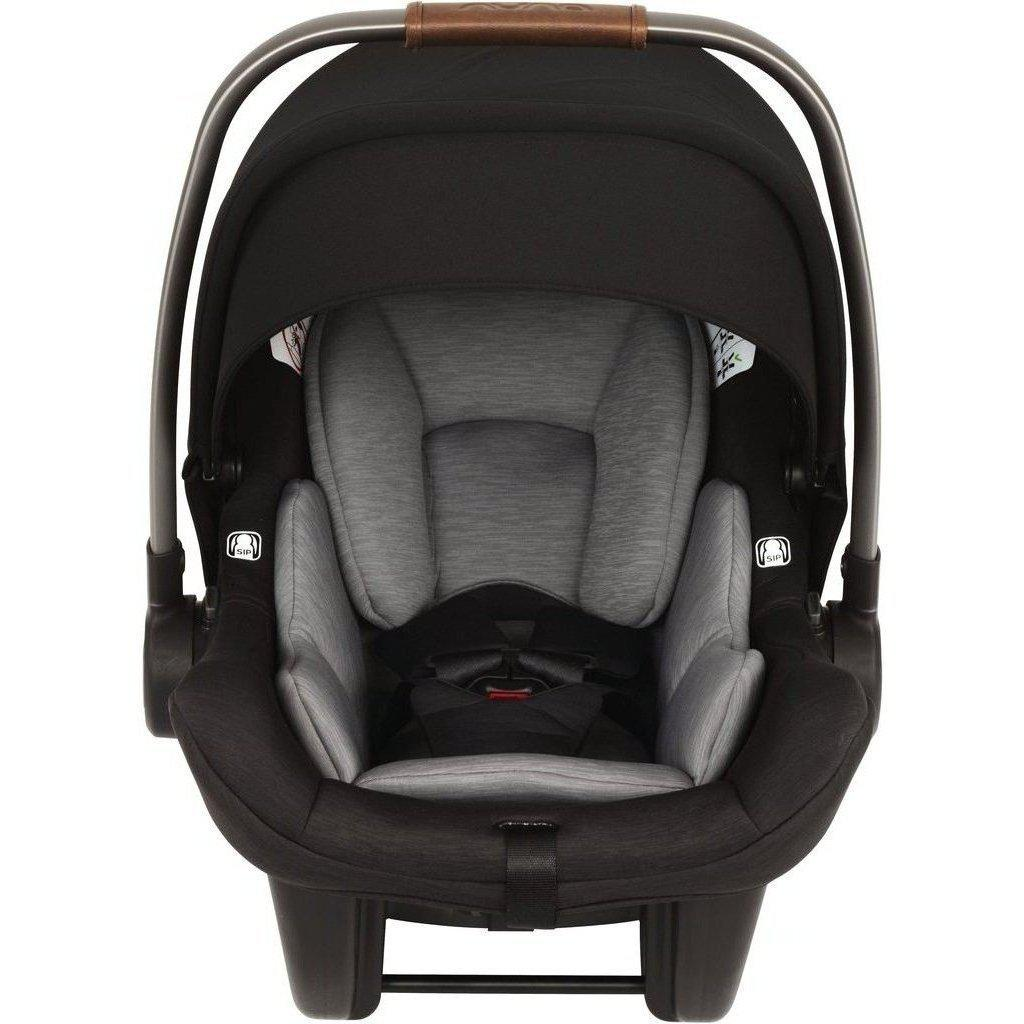 2019 Nuna PIPA Lite Infant Car Seat and Base-Granite-CF08500GRN-Strolleria