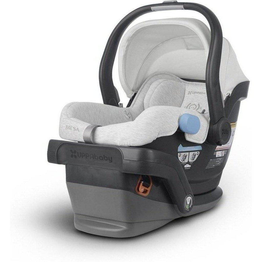 2019 UPPAbaby MESA Infant Car Seat and Base-Jordan Charcoal Melange-1017-MSA-US-JOR-Strolleria