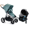 2017 Stokke Xplory Travel System - Xplory V5 Stroller with Silver Frame and PIPA Car Seat