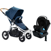 2017 Stokke Xplory Travel System - Xplory V5 Stroller with Black Frame and PIPA Car Seat