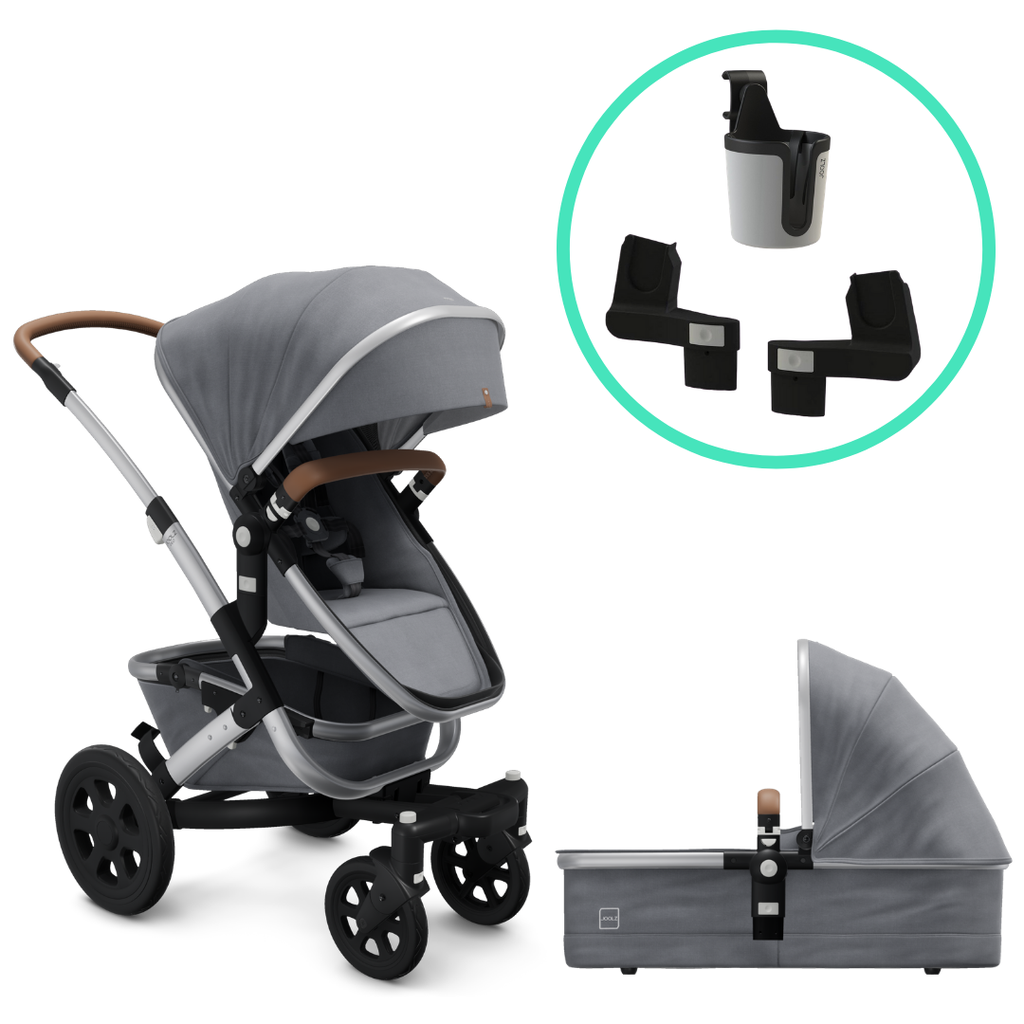 Joolz Geo2 Mono Complete Stroller and Accessory Bundle