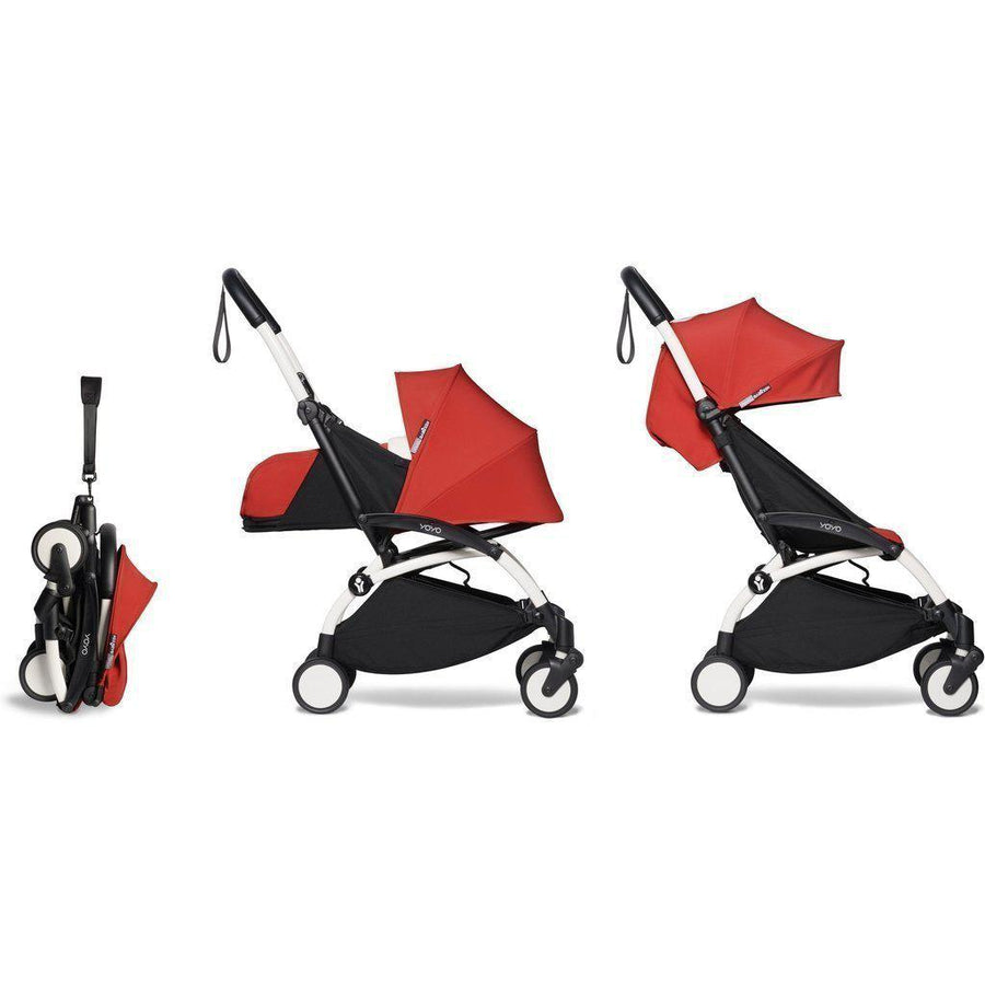 2020 Babyzen YOYO2 Complete Bundle: Stroller Frame, 0+ Newborn Pack and 6+ Color Pack