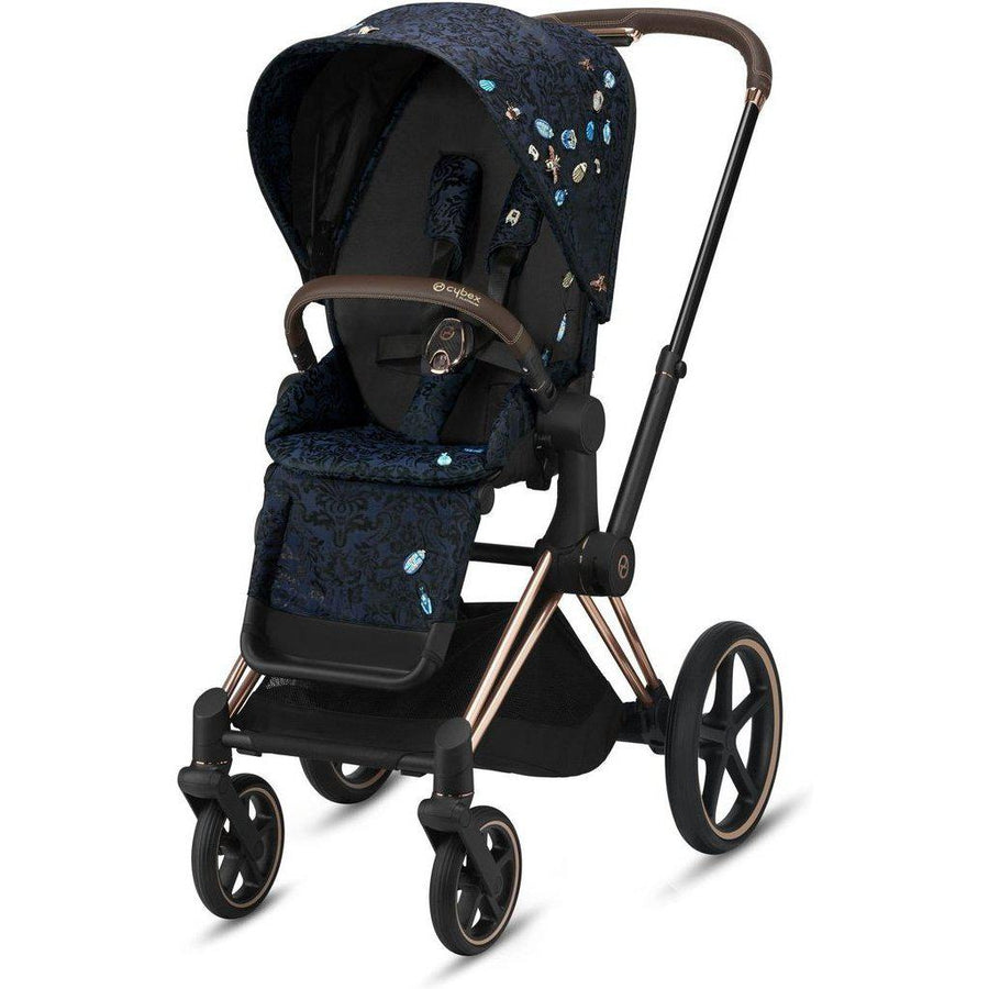 Cybex Priam3 Stroller and Carry Cot Bundle - Jewels of Nature