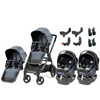 Agio Z4 and Primo Viaggio 4-35 Nido Twin Travel System by Peg Perego