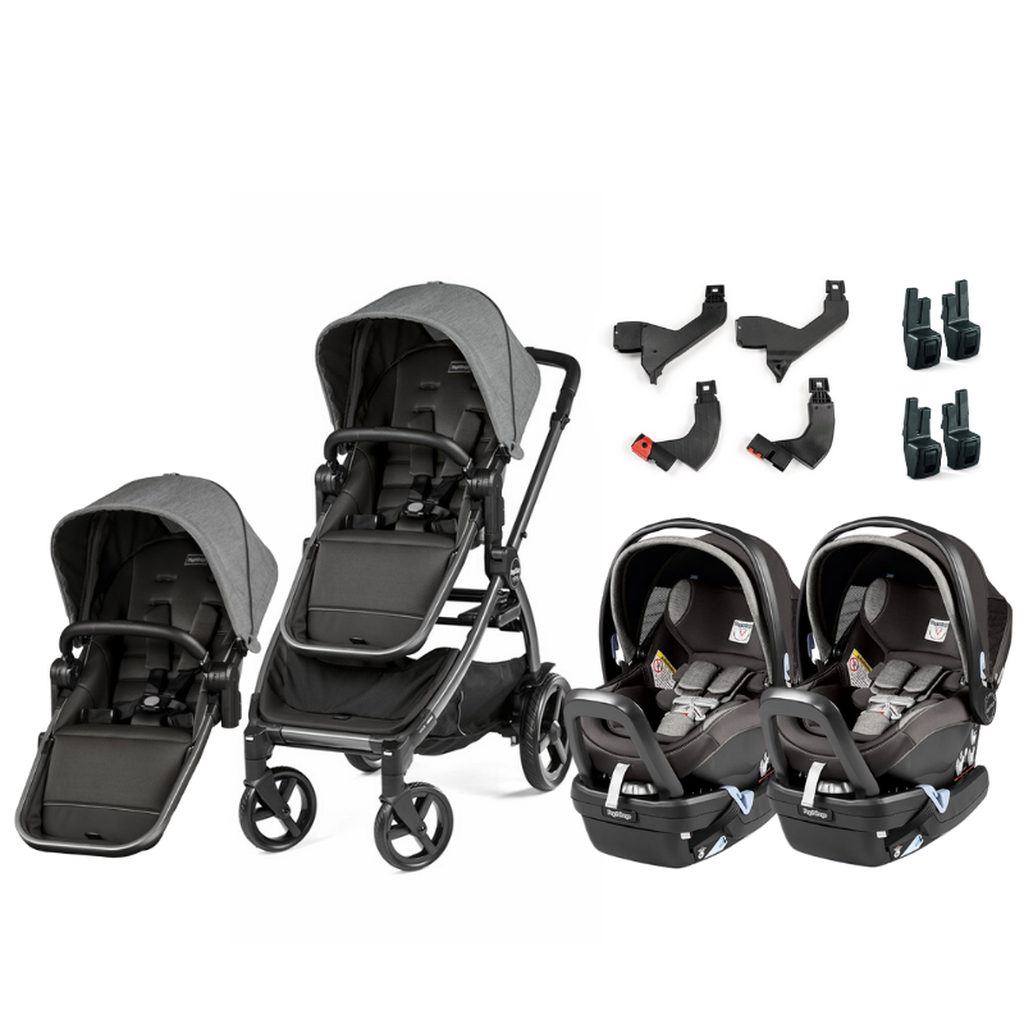 Peg-Perego YPSI and Primo Viaggio 4-35 Nido Twin Travel System