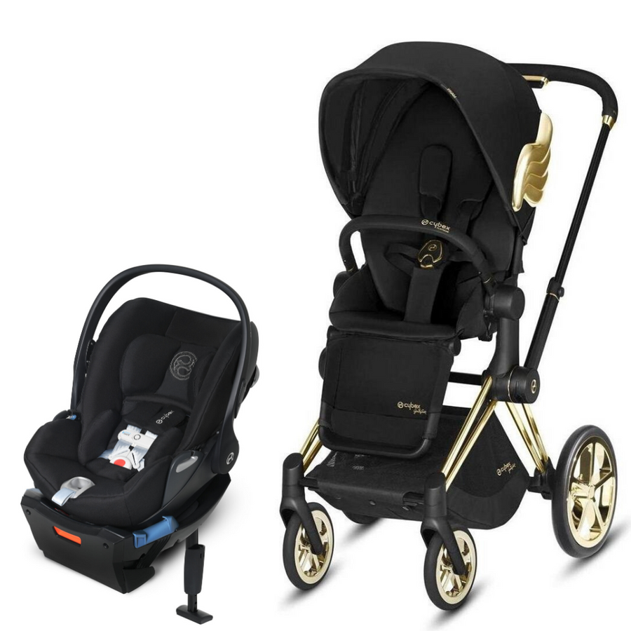Cybex Wings Priam3 - Jeremy Scott Wings and Cloud Q SensorSafe Travel System