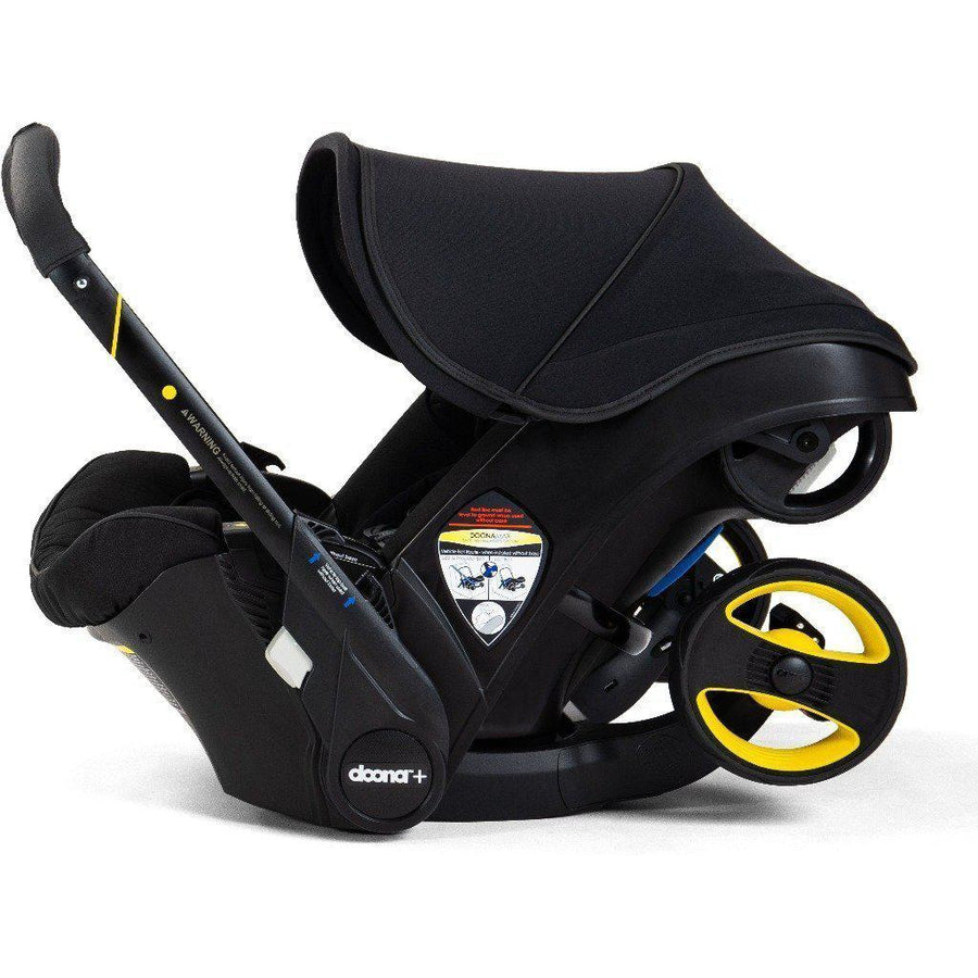 Doona+ Infant Car Seat / Stroller and Base - Midnight Special Edition