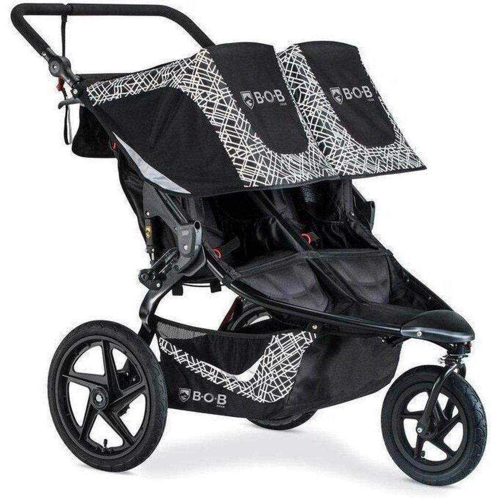 BOB Revolution Flex 3.0 Duallie Double Jogging Stroller ...