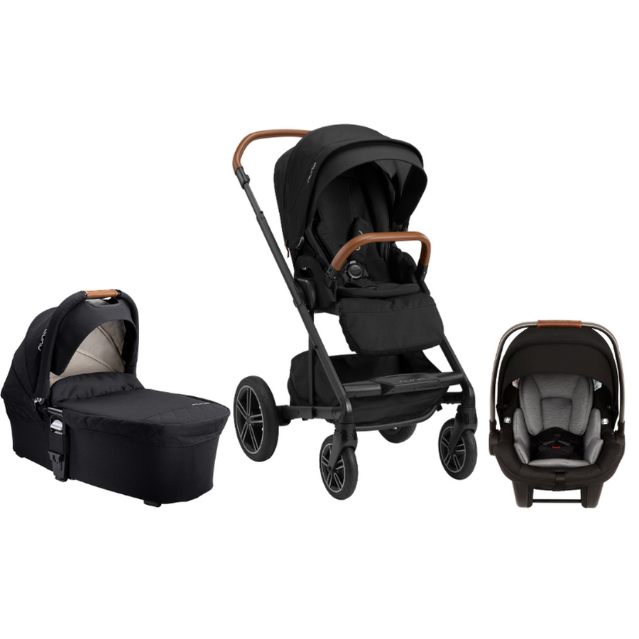 2021 Nuna MIXX Next Bundle - Stroller, Bassinet and PIPA Lite Infant Car Seat