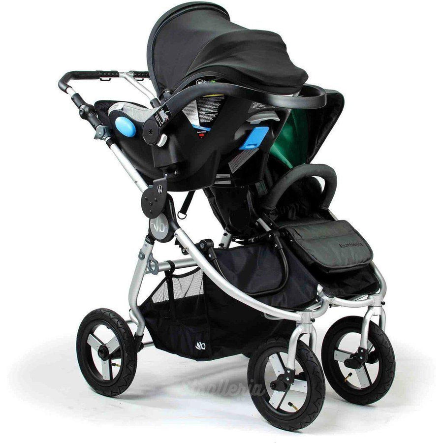 Bumbleride Indie Twin and Clek Liing Double Stroller Travel System