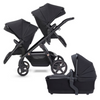 2021 Silver Cross Wave Double Stroller - Eclipse Collection
