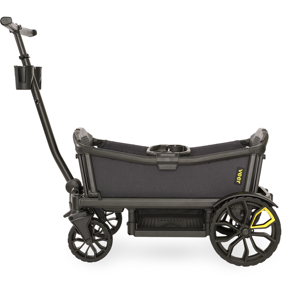 Veer Cruiser All Terrain Wagon With Canopy And Sidewalls Strolleria