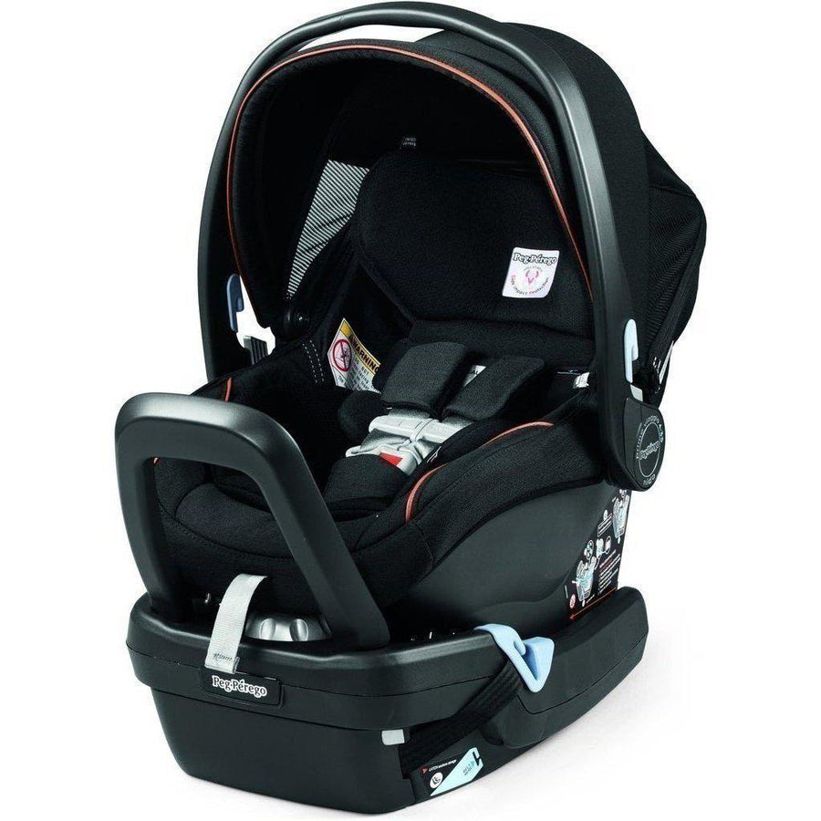 Agio Primo Viaggio 4-35 Nido Infant Car Seat and Base by Peg-Perego-Agio Grey-IMPV04UX35BA53DX53-Strolleria
