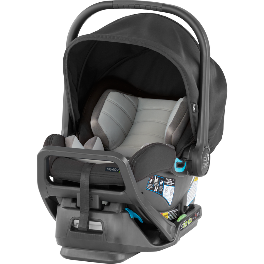 Baby Jogger City Go 2 Infant Car Seat and Base-Mystic-2082709-Strolleria