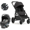 Baby Jogger City Select LUX and City GO 2 Travel System-Granite-2008334 / 2082708 / 1967362-Strolleria