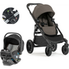 Baby Jogger City Select LUX and City GO 2 Travel System-Taupe-2008340 / 2082708 / 1967362-Strolleria