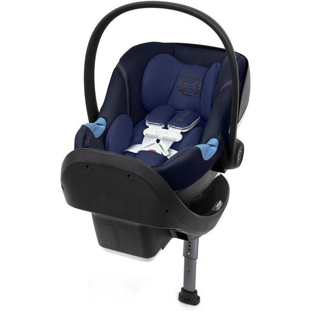 Cybex Aton M SensorSafe Infant Car Seat and Base-Lavastone Black-518002859-Strolleria