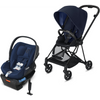 Cybex Mios2 and Cloud Q Plus with SensorSafe Travel System-Indigo Blue / Midnight Blue-519003363 / 519003941-Strolleria