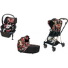Cybex Mios2 Bundle - Stroller, Carry Cot and Cloud Q - Spring Blossom-Dark-519004011 / 519003269 / 519004369 / 519004023-Strolleria
