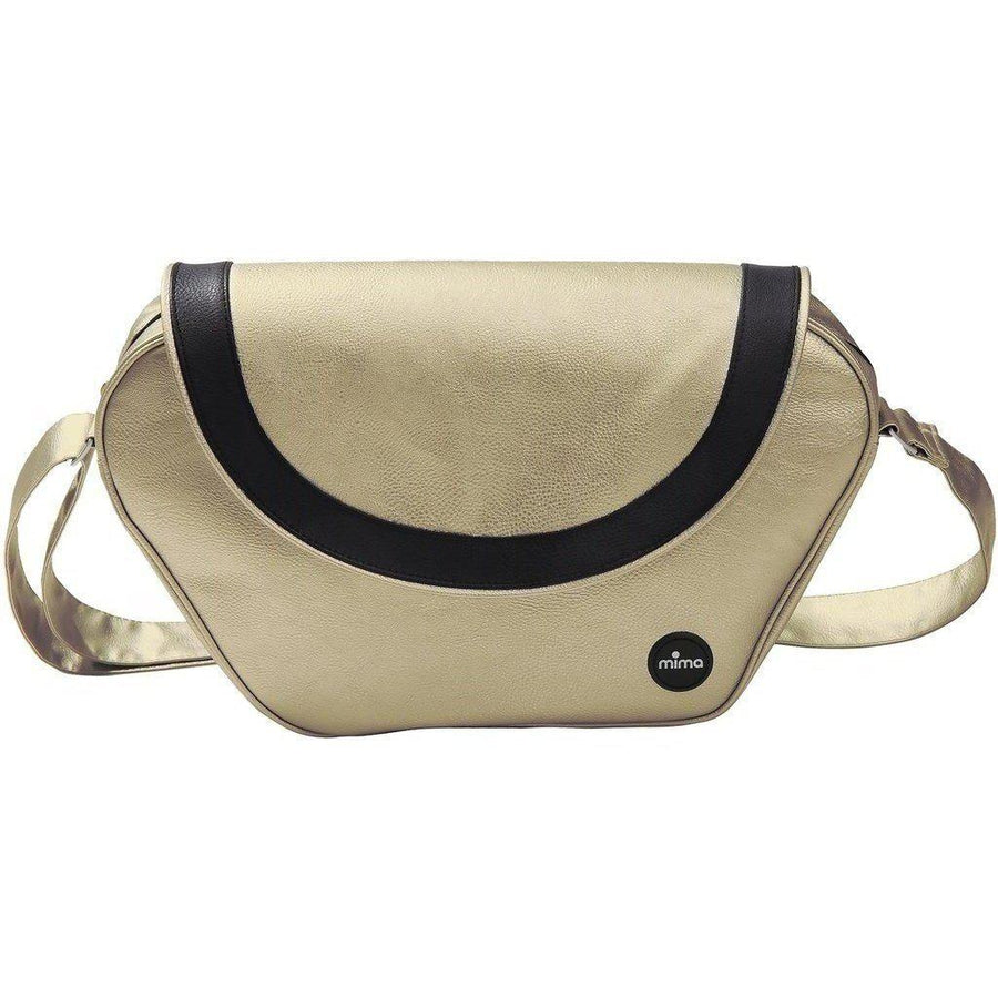 Mima Trendy Faux Leather Changing Bag-Camel-S1609-10-Strolleria