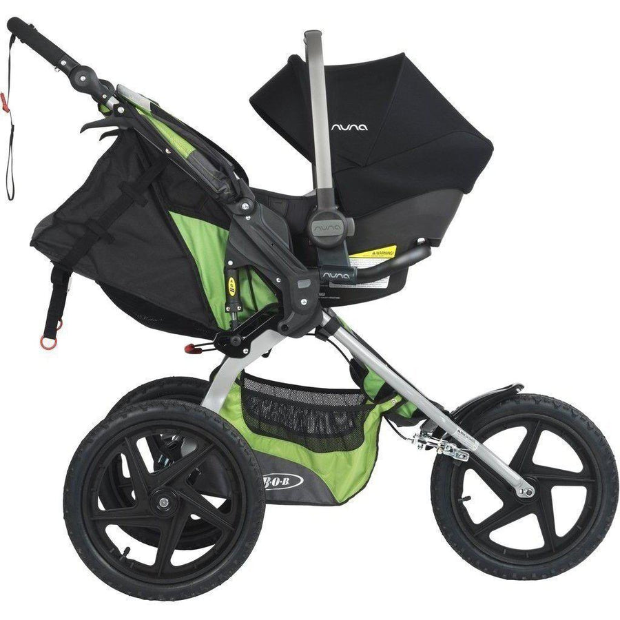 Nuna PIPA Adapter - BOB Single Strollers-AD09100ACS-Strolleria