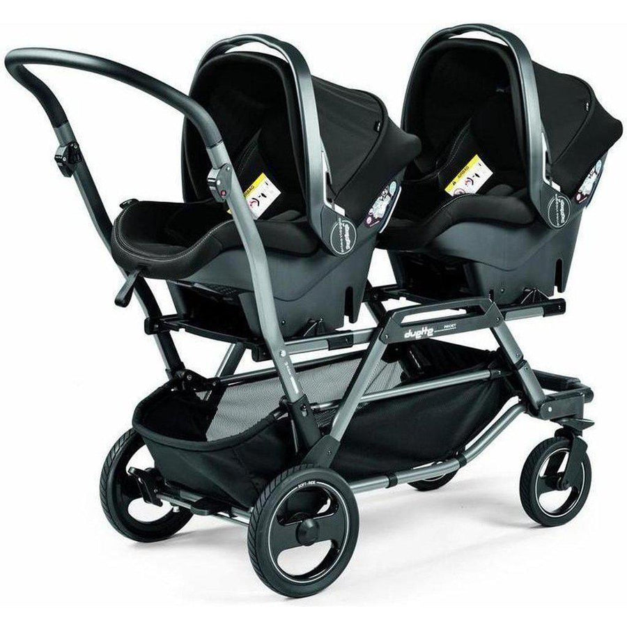Peg-Perego Duette Piroet Double Stroller-IP0828NA62MF53DX53-Strolleria