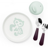 Stokke Munch Dinner Set-Essentials Soft Mint-529801-Strolleria