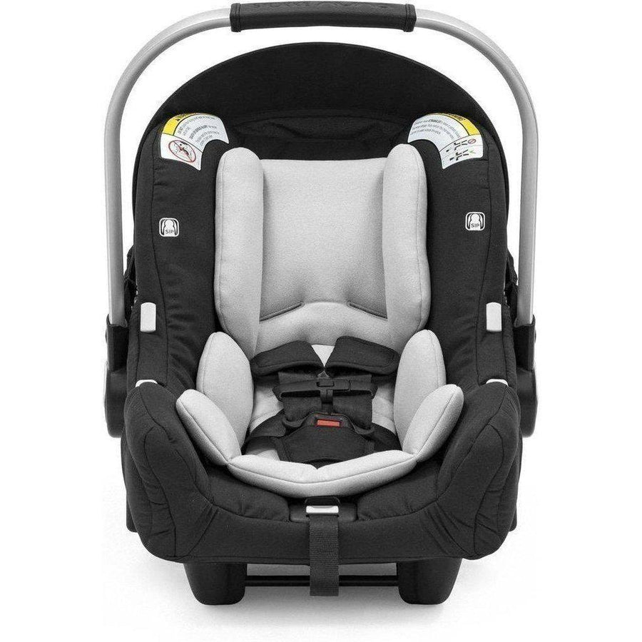 Stokke PIPA by Nuna Car Seat and Base for Xplory/Scoot/Trailz-Black Melange-519201-Strolleria