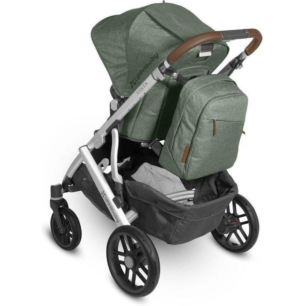 UPPAbaby Changing Backpack-Emmett Green Melange-0919-DPB-WW-EMT-Strolleria