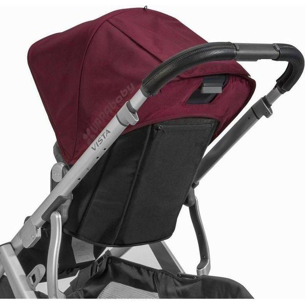 UPPAbaby Leather Handlebar Cover - VISTA-Saddle Brown-0917-VLB-WW-SDL-Strolleria