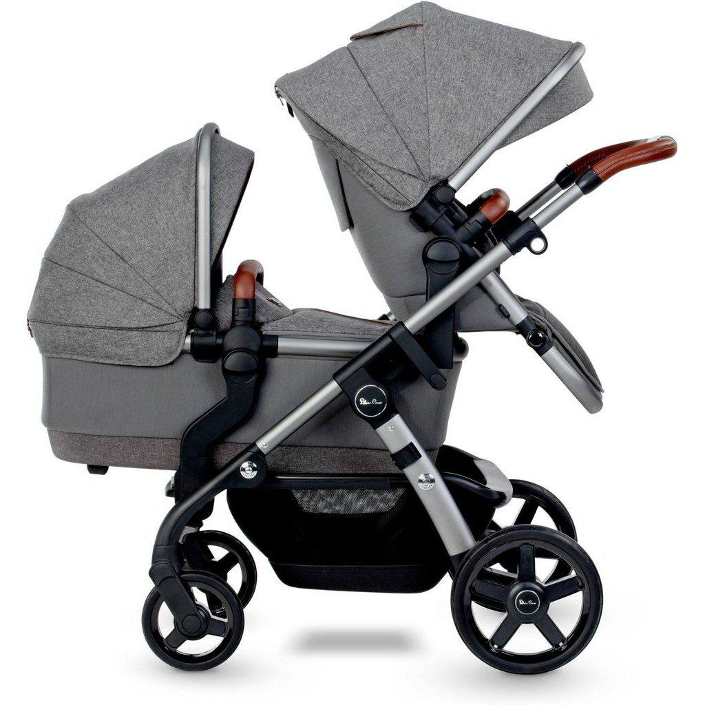 2021 Silver Cross Wave Double Stroller