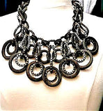 Lanvin. Paris. Runway Statement Bib Necklace. - PILGRIM NEW YORK