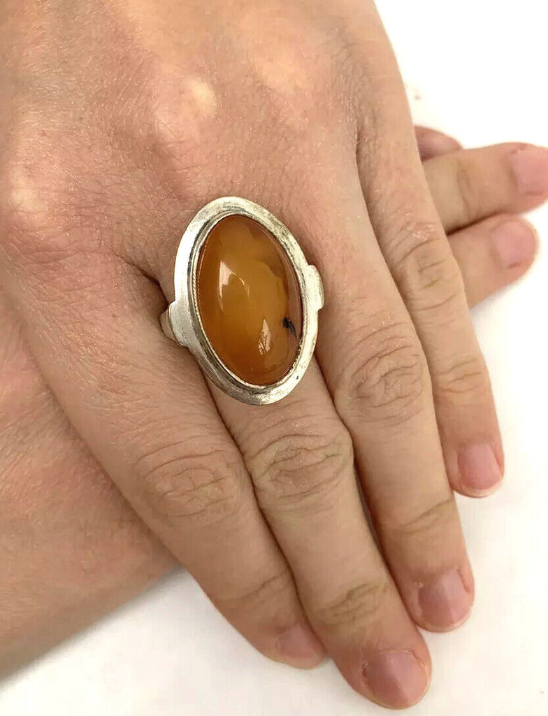Art Deco Amber Ring - PILGRIM NEW YORK