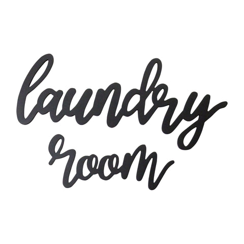 Wood Laundry Room Script Wall Decor Wood Laundry Room Script Wall Decor