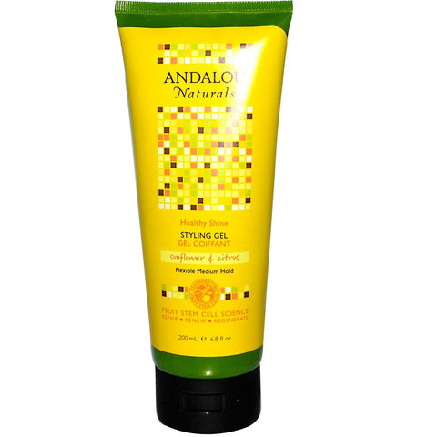 Andalou Naturals Healthy Shine Sunflower & Citrus Styling Gel (1x6.8 Oz) Andalou Naturals Healthy Shine Sunflower &