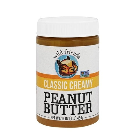 Wild Friends Foods Peanut Butter Classic Creamy (6x16 OZ) Wild Friends Foods Peanut Butter Classic Creamy (6x16 OZ)
