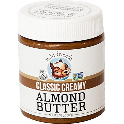 Wild Friends Foods Almond Butter Classic Creamy (6x10 OZ) Wild Friends Foods Almond Butter Classic Creamy (6x10 OZ)