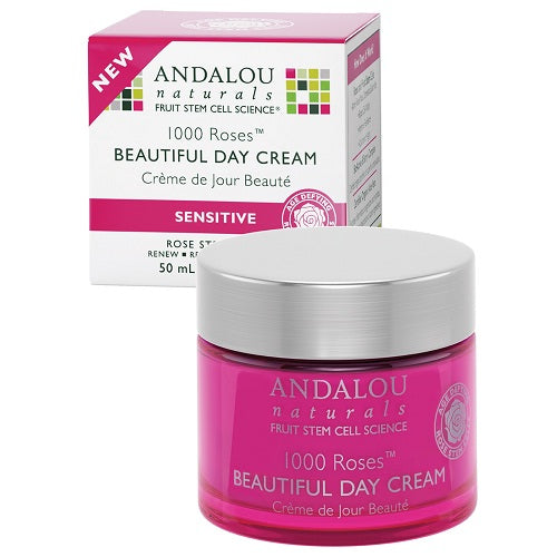 Andalou Naturals 1000 Roses Day Cream Sensitive (1x1.7 OZ) Andalou Naturals 1000 Roses Day Cream Sensitive (1x1.7 OZ)