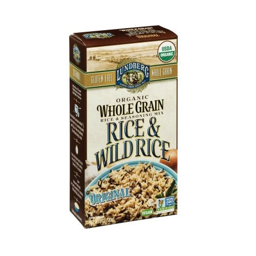 Lundberg Organic Whole Grain Original Wild Rice (6x6 OZ) Lundberg Organic Whole Grain Original Wild Rice (6x6 OZ)